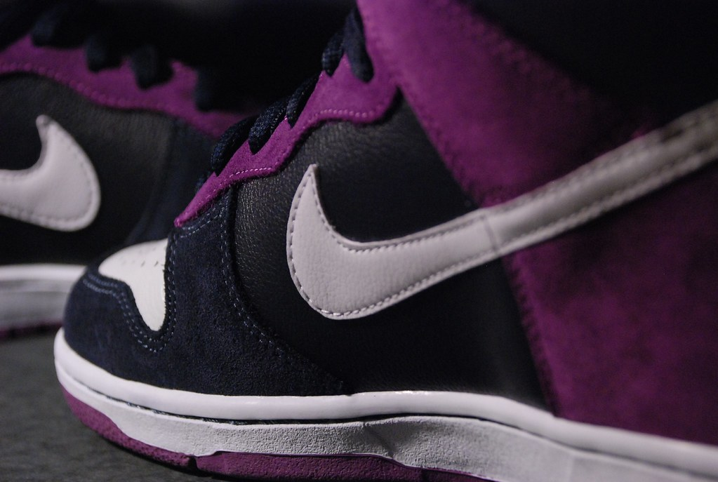 Nike SB Un-Heaven s Gate (2nd Place) Tags  white black high purple 586f365c1