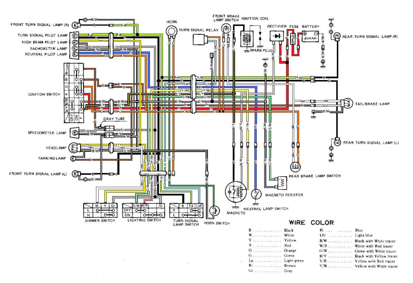 Suzuki Tf 125 Wiring Harness - Auto Electrical Wiring Diagram •