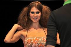 Bad hair day? (stephanrudolph) Tags: portrait people girl face germany deutschland nikon europa europe flash sb600 cologne indoor kln crop handheld nrw tradeshow kunstlicht 70300mmf4556gvr 70300mmvr d700
