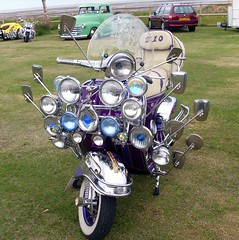 Pimped up scooter (Abi Skipp) Tags: