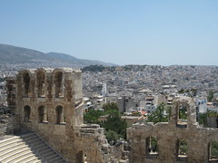 Theater of Herodes Atticus (hewy) Tags: travel greece ancientgreece