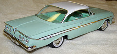 1961 Chevrolet Impala Hardtop (Original SMP) (coconv) Tags: cars scale car vintage promo model plastic 124 kit collectible promotional dealership johan mpc 125 amt smp hubley revell