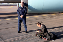 Khue Bui preparing for Obama's arrival in Phoenix
