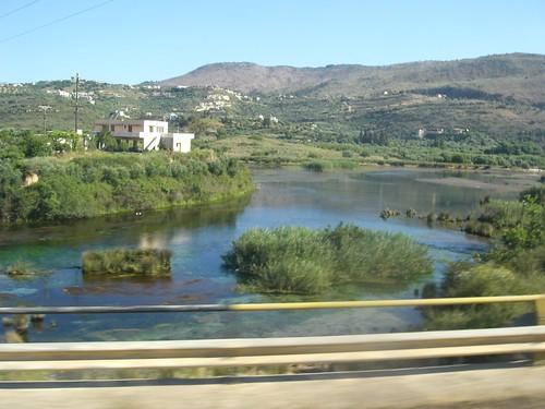 rethimno geropotamos wetland