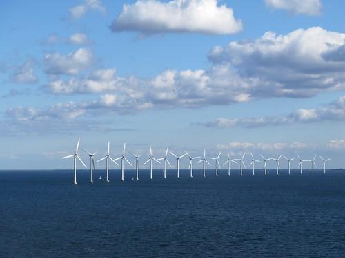 Wind Turbines of Copenhagen by Daniel Greene