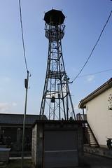 中山中廓の火の見櫓(川島町)