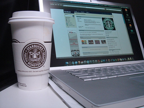 Starbucks ........ (image via Flickr by mightykenny).