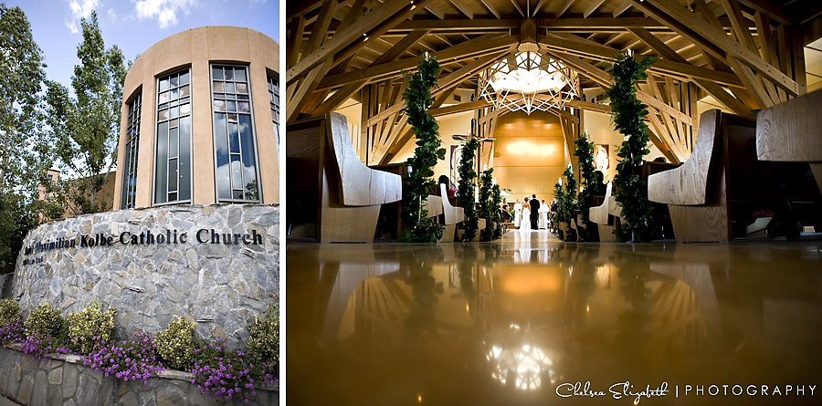 St. Maximilian Kolbe Catholic Church Wedding Ceremony
