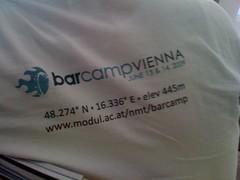 Barcamp Vienna T-Shirt - Rückseite