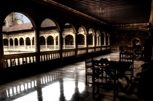 Claustro superior del Hostal San Marcos. Hostal de San Marcos upper cloister.