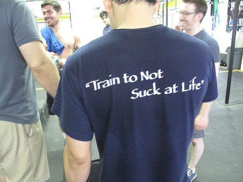 train to not suck at life!
