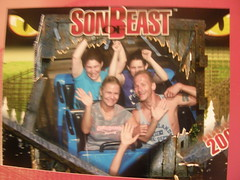 Son of Beast @ Kings Island (~Sweenett Lover~) Tags: ohio kristina megan rollercoaster magyar kingsisland sonofbeast kingsmill
