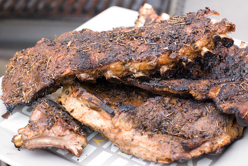 Dry Rub Baby Back Ribs and Side Ribs