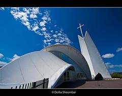 Sydney Along The Waterweg (DolliaSH) Tags: church sydney wideangle ultrawide kerk maassluis waterweg canoneos50d dollia dollias sheombar andreasenpetrus
