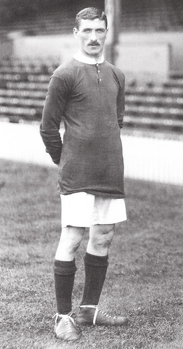 Billy Meredith in 1911/12 home kit