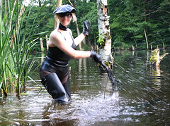 Latex Waders (klepptomanie) Tags: latex waders rubberboots gummistiefel watstiefel