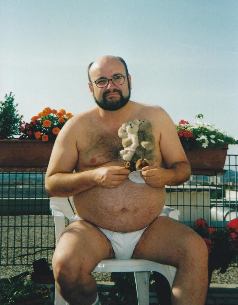 Mature bear man