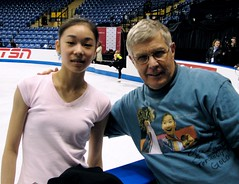 "Early Pick for 2010 - Yu-Na Kim at 2006 Skate Canada Practice - She's the ""One"""