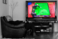Snookers on . (CWhatPhotos) Tags: pictures colour sports canon that eos rebel photo with photos live picture balls sigma player have part adobe coloring players snooker colouring partial bbc2 2010 selective xsi lightroom osullivan selby 2470mm colourization 450d exdg paintshopprophotox2 cwhatphotos