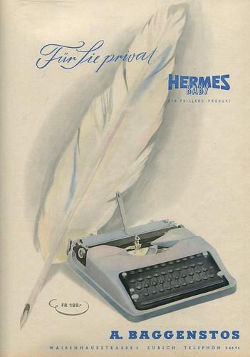 Du 1944-04 Hermes Baby