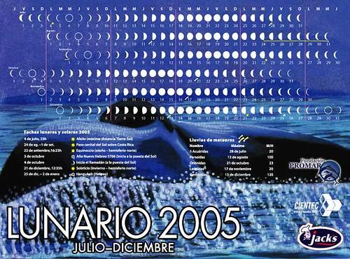 Lunario 2005 Jack's
