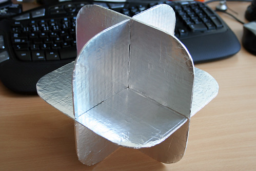 Homemade Lightweight Radar Reflector