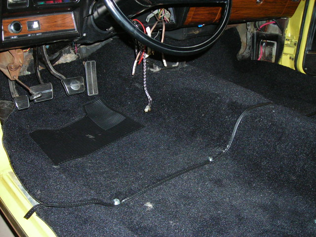 Carpet Install Verification 69 With Auto Team Camaro Tech