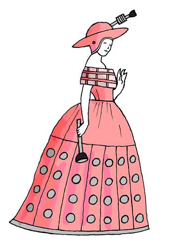 Dalek Hoop Dress