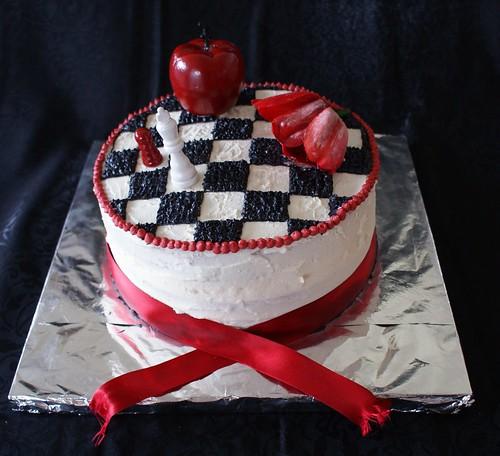 Twilight 16th birthday cake 1