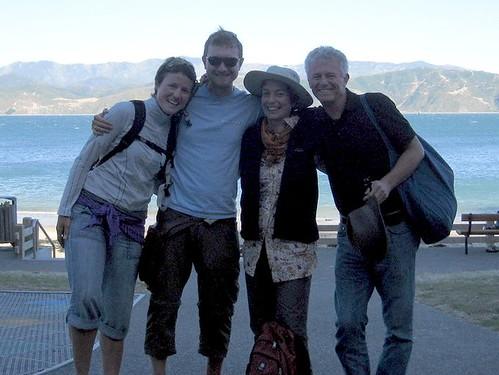 Karo, Walter, Cerima und Uwe (v.l.n.r.)