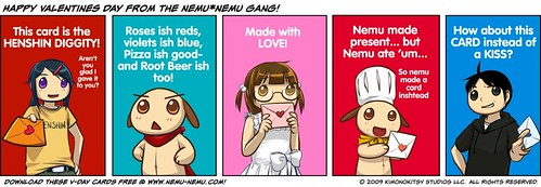 Happy Valentine's Day from the nemu*nemu Gang!