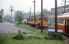 19680526 67 PAT 1636 M454 Castle Shannon (davidwilson1949) Tags: pittsburgh pennsylvania transit streetcar pcc