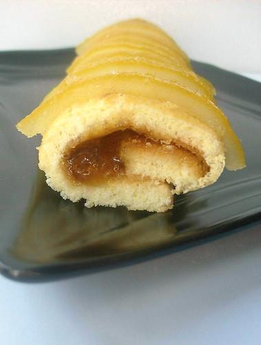 Mini rotoli con marmellata di bergamotto