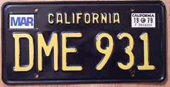 CALIFORNIA 1979 LICENSE PLATE ---BLACK BASEPLATE (woody1778a) Tags: world auto california signs canada cars car sign vintage edmonton photos antique tag woody plate tags licenseplate collection number photographs license plates foreign oddball 1979 numberplate licenseplates 931 numberplates licenses rarity cartag carplate carplates autotags cartags autotag foreigns alpca pl8s worldplates worldplate foreignplates platetag