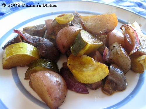 Roasted Balsamic Vegetables