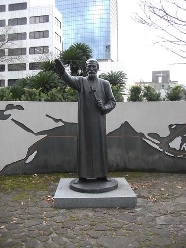 フランシスコ・ザビエル像/Statue of Francisco Xavier