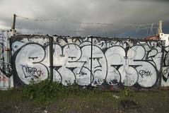 Enron (TheHarshTruthOfTheCameraEye) Tags: graffiti oakland enron