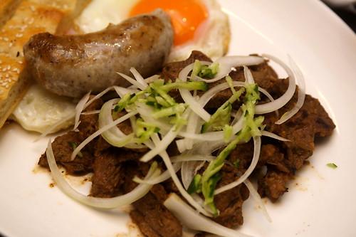 伊斯坦堡烤羊肉加德式煎腸 (by Audiofan)