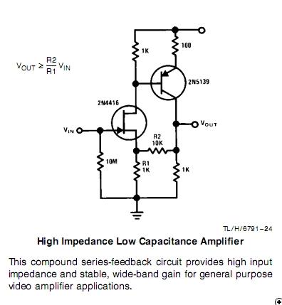 Frage zu Jfet Schaltung aus AN32 von National Semiconductor [Archiv
