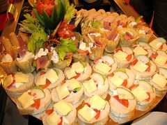 Appertiser Cold Cuts, canape, open sandwiches (bubbleling) Tags: food buffet sabah canape opensandwiches hotelsandakan appertisercoldcuts