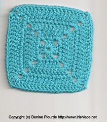 scan of granny square