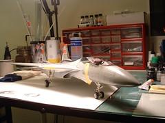 DSCF0053.JPG (chrispricecreative) Tags: airplane fighter f14 aircraft models jet plastic jetfighter 132 tomcat wolfpack grumman fighterplane militaryaircraft plasticmodel revell vf1 f14a 132f14atomat modelbuild platicmodels