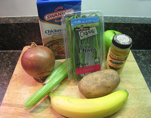 Ingredients for One-Of-Each Soup