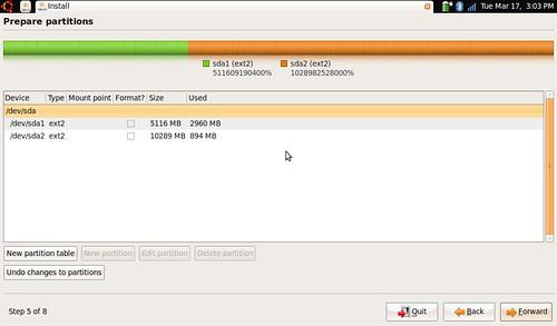 install -parition editor