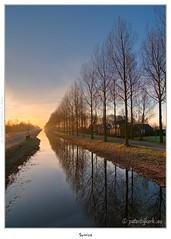 Zonop over de Noordervaart (Peterbijkerk.eu Photography) Tags: geotagged bomen nikon nederland nh hdr hdri landschap d300 bomenrij stompetoren noordervaart bomenlaan peterbijkerk wwwcompumesseu wwwpeterbijkerkeu compumessinc geo:lat=52607435 geo:lon=4840713