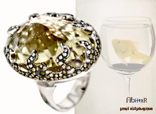 مجموعة مجوهرات _بالاحجار الكريمة والالماس 3374555149_ec13baf7d2