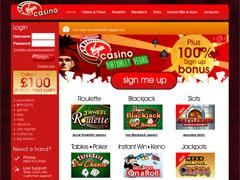 Virgin Casino Lobby