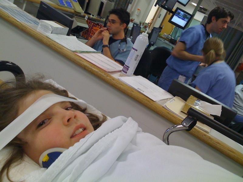 Arriving at the ER