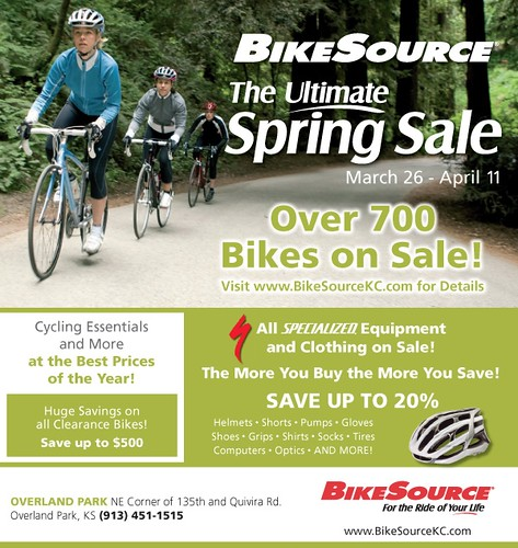 2009 BikeSource Ulitamate Spring Sale