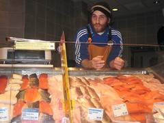 Staff at Willowbrook Whole Foods Fish Counter